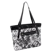 Parinda Fiona Gray Quilted Fabric Tote (11283)