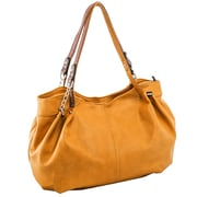 Parinda Arianna Tan Pebble Grain Faux Leather Handbag (11299)