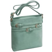 Parinda Clarice Ii Turquoise Faux Leather Crossbody (11331)