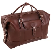 Siamod Manarola Cognac Pull-Up Leather Duffel Bag (25084)