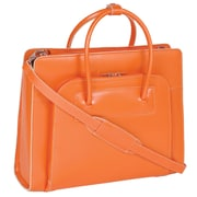 McKlein USA Lake Forest W Series Orange Top Grain Leather Women Case with Removable Case (94330)