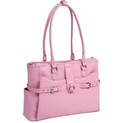 McKlein USA Willow Springs W Series Pink Top Grain Leather Ladies Briefcase (96569)