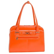 McKlein USA Oak Grove W Series Orange Top Grain Leather Ladies Briefcase (96630)