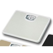 Home Basics Non-Skid Bathroom Mechanical Digital Scale; White