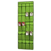 Sunbeam 20 Pocket Over The Door Shoe Organizer; Green