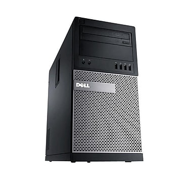 Dell - Optiplex 7010 remis à neuf, MT, Core i5 3470, 3,2 GHz, 4 Go, 250Go, DVD/RW, Windows 10 Pro