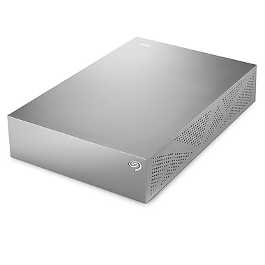 Seagate® Backup Plus For Mac STDU4000100 4TB USB 3.0 Desktop Drive, Silver