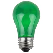 Wintergreen Lighting 15W Green 130-Volt  Light Bulbs (Pack of 25)