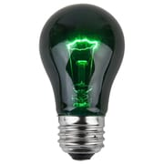 Wintergreen Lighting 15W Green 130-Volt Light Bulb (Pack of 25)