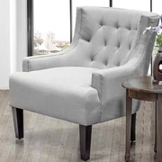 BestMasterFurniture Living Room Arm Chair; Gray