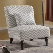 BestMasterFurniture Living Room Slipper Chair; Gray