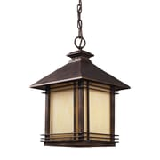 Radionic Hi Tech Blackwell 1 Light Outdoor Pendant; Incandescent