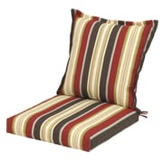 Plantation Patterns Majestic Stripe Deep Seating Chair Cushion