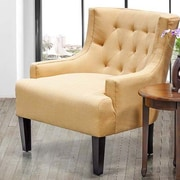 BestMasterFurniture Living Room Arm Chair; Mustard