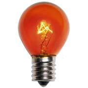 Wintergreen Lighting 10W Amber 130-Volt Light bulb (Pack of 25)