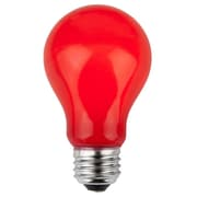 Wintergreen Lighting 25W Red 130-Volt Light Bulb (Pack of 25)