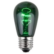 Wintergreen Lighting 11W Green 130-Volt Light Bulb (Pack of 20)