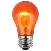 Wintergreen Lighting 15W Amber130-Volt Light Bulb (Pack of 25)