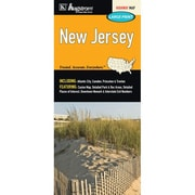 Universal Map New Jersey Large Print Fold Map