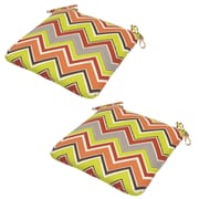 Plantation Patterns Marquesa Outdoor Dining Chair Cushion (Set of 2)