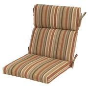 Plantation Patterns Cayenne Outdoor High Back Chair Cushion