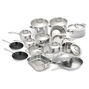 Cuisinox Super Elite 30 Piece Non_Stick Stainless Steel Cookware Set