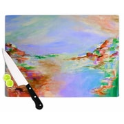 KESS InHouse Something About the Sea 3 Cutting Board; 15.75'' W x 11.5'' D