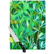 KESS InHouse Effloresence Cutting Board; 11.5'' W x 8.25'' D