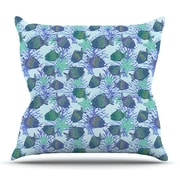 KESS InHouse My Colorful Fishes Throw Pillow; 26'' H x 26'' W x 5'' D