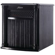 Hunter Home Comfort 1,500 Watt Portable Electric Infrared Cabinet Heater with Remote Control; Black
