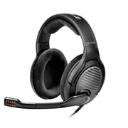 Sennheiser HD 461G Stereo Over-the-Head Headphones with Mic, Black/Silver