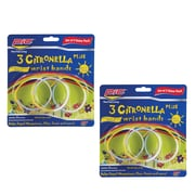 6ct. Pic Citronella Plus Mosquito Repellent Wristbands