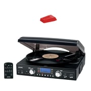 Jensen 3-speed Stereo Turntable With Mp3 Encoding System & Turntable Needle