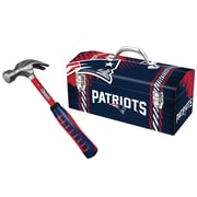 "Sainty 08318 Patriots 16oz Steel Hammer And Sainty 79-318 Patriots 16"" Tool Box"