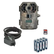 Stealth Cam 10 Mp 100ft No Glo Scout Cam,Python Cable ,8pk Battery, 8gb Card