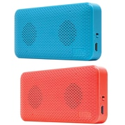 iluv Audmini Portable Pink And Blue Speakers 2 Pack