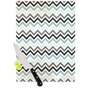 KESS InHouse Chevron Cutting Board; 11.5'' W x 8.25'' D
