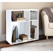 Homestar 30'' Cube Unit Bookcase; White