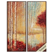 Propac Images Emerald Pond I/II Framed Painting Print (Set of 2)