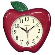 Westclox 10'' 3D Apple Wall Clock