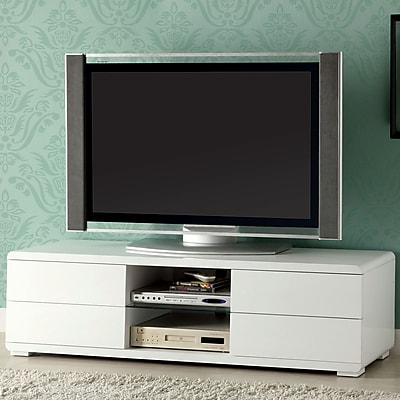 Hokku Designs Sharron TV Stand; White
