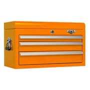Viper Tool Storage 26'' Wide 3 Drawer Top Cabinet II; Orange