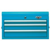 Viper Tool Storage 26'' Wide 3 Drawer Top Cabinet II; Teal