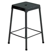 Safco Products Counter-Height Steel Stool; Black