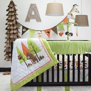 Pam Grace Creations Charming Forest 6 Piece Crib Bedding Set