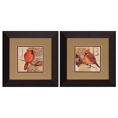Propac Images Bird I/II 2 Piece Framed Graphic Art Set