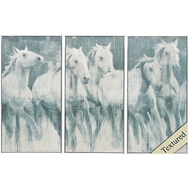 Propac Images Equine Journey 3 Piece Framed Graphic Art Set
