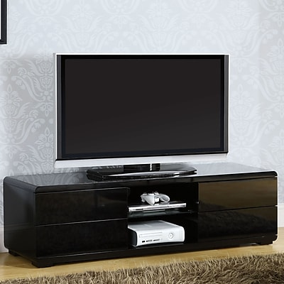 Hokku Designs Sharron TV Stand; Black