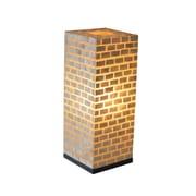 Jeffan Valentti Santa Cruz 25'' H Table Lamp w/ Rectangular Shade; White