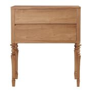 ASTA Home Furnishing Glam 2 Drawer Side Cabinet
